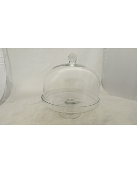 TABLE BASSE RONDE VERRE CANNAGE